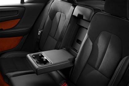 Volvo XC40 Innenansicht statisch Studio Rücksitze fahrerseitig