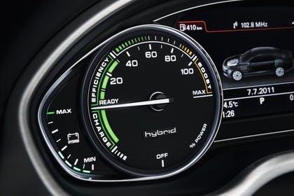 Audi A8 D4 Innenansicht Detail Kmbiinstrument Hybrid statisch schwarz