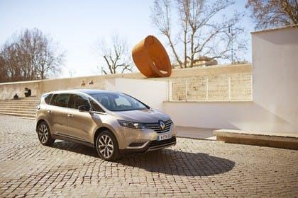Renault Espace RFC Aussenansicht Front schräg statisch beige