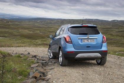 Opel Mokka X AussenansichtHeck statisch blau