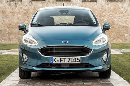 Ford Fiesta JHH Dreitürer Aussenansicht Front statisch blau