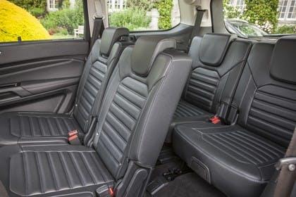 Ford Galaxy WA6 Innenansicht statisch Innenraum Rücksitze und 3. Sitzreihe