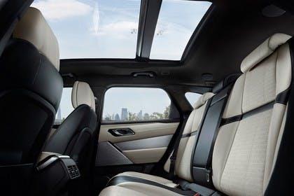 Land Rover Range Rover Velar Innenansicht Rückbank statisch schwarz