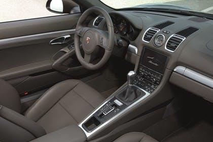 Porsche Boxster 981 Innenansicht Beifahrerposition statisch braun