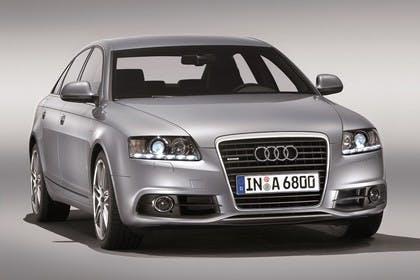 Audi A6 4f Facelift Aussenansicht Front Studio statisch silber