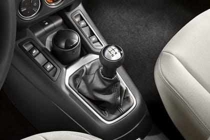 Citroën C-Elysee Innenansicht statisch Studio Detail Mittelkonsole Handschalter