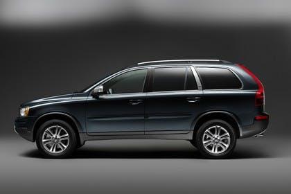 Volvo XC90 Aussenansicht Seite Studio statisch petrol