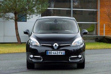 Renault Scenic JZ Facelift Aussenansicht Front statisch schwarz
