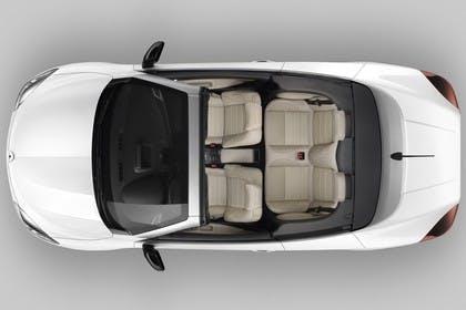 Renault Mégane CC Z Aussenansicht Draufsicht statisch Studio weiss