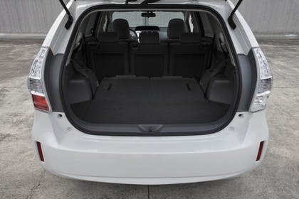 Toyota Prius+ XW30 Innenansicht statisch Kofferraum