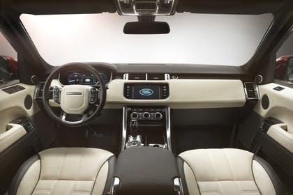 Land Rover Range Rover Sport LW Innenansicht Studio statisch beige braun