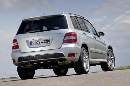Mercedes Benz Aussenansicht Heck schräg statisch silber