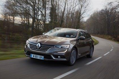 Renault Talisman Grandtourer (RFD) Aussenansicht Front schräg dynamisch braun