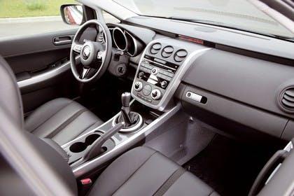Mazda CX-7 Innenansicht Beifahrerposition statisch schwarz