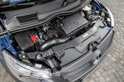 Mercedes-Benz Vito W447 Aussenansicht statisch Detail Motor