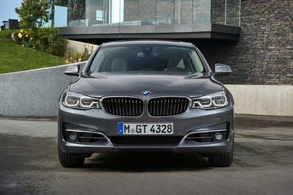 BMW 3er GT F34 Aussenansicht Front statisch grau