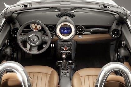 Mini Roadster R59 Innenansicht statisch braun