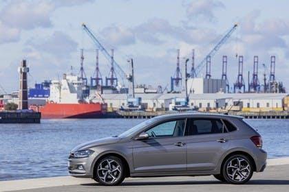 VW Polo AW Aussenansicht Seite statisch grau