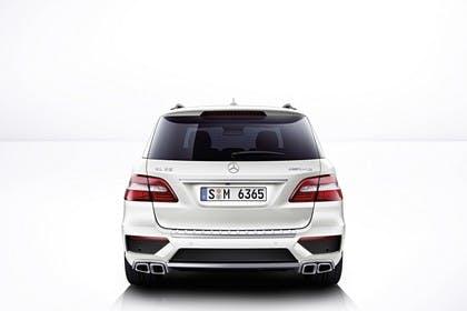 Mercedes M-Klasse W166 Studio Aussenansicht Heck statisch weiß