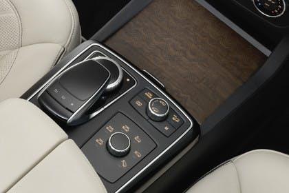 Mercedes-Benz GLS X166 Innenansicht Detail Mittelkonsole statisch beige