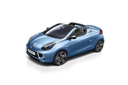 Renault Wind N Aussenansicht Front schräg erhöht statisch Studio blau