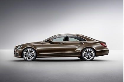 Mercedes-Benz CLS C218 Aussenansicht Seite Studio statisch braun