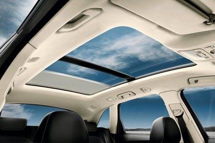 Audi SQ5 8R Innenansicht Panoramadach statisch beige