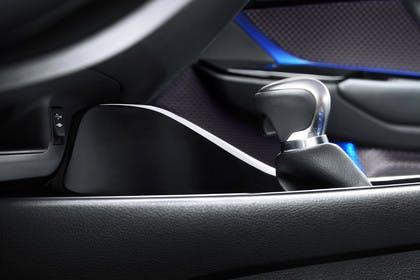 Toyota C-HR Innenansicht statisch Detail Schalthebel