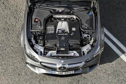 Mercedes-AMG E 63 W213/S231 Aussenansicht Front Detail statisch Motor