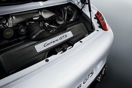 Porsche 911 Carrera GTS Cabriolet 997.2 Aussenansicht statisch Studio Detail Motor
