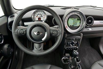 Mini Clubman R55 Studio Innenansicht Fahrerposition statisch schwarz