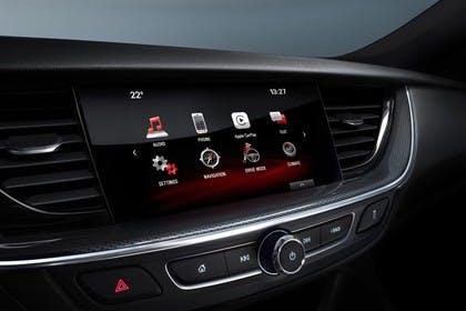 Opel Insignia B Sports Tourer Innenansicht Detail Multimedia Studio statisch schwarz
