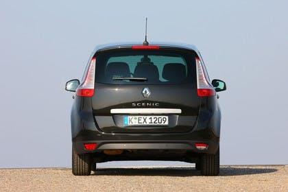 Renault Grand Scenic JZ Aussenansicht Heck statisch schwarz