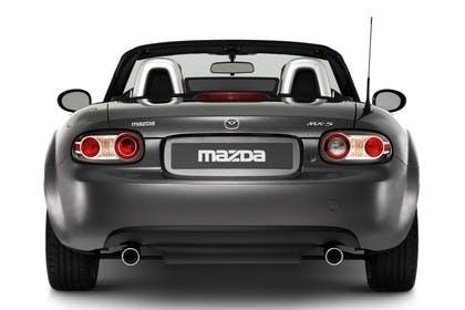Mazda MX-5 NC Studio Aussenansicht Heck statisch grau
