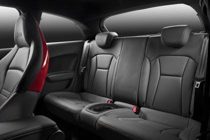Audi A1 Innenansicht Rücksitzbank Studio statisch schwarz