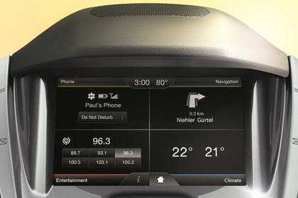 Ford Tourneo Connect PJ2 Innenansicht Infotainmentbildschrim