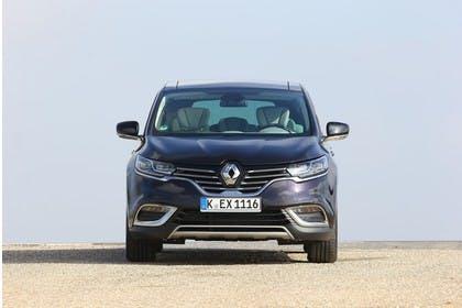 Renault Espace RFC Aussenansicht Front statisch braun