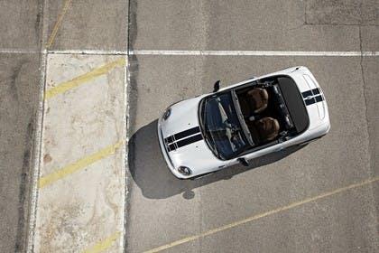 Mini Roadster R59 Aussenansicht Draufsicht statisch silber