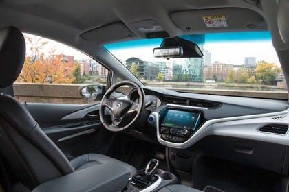 Opel Ampera-e Innenansicht Beifahrerposition statisch schwarz