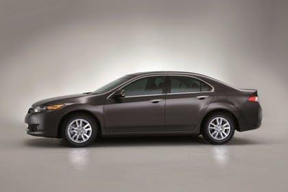 Honda Accord Limousine 8 Aussenansicht Seite statisch Studio braun