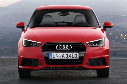 Audi A1 Aussenansicht Front statisch rot