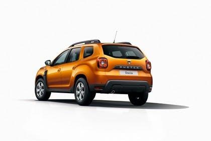 Dacia Duster SR Aussenansicht Heck schräg statisch orange