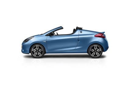 Renault Wind N Aussenansicht Seite statisch Studio blau