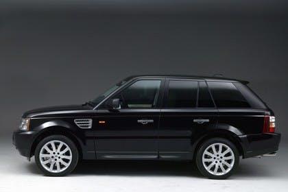 Land Rover Range Rover Sport LS Studio Aussenansicht Seite statisch schwarz