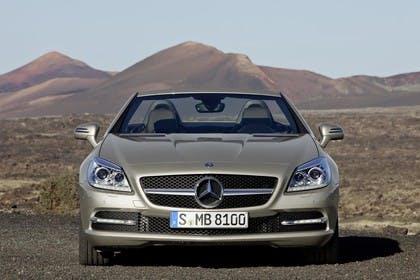Mercedes-Benz SLK 350 R172 Aussenansicht Front statisch beige
