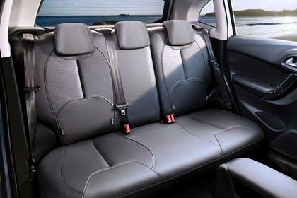 Citroën C3 S Innenansicht statisch Rücksitze