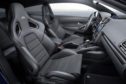 VW Scirocco R Typ 13 Innenansicht Motorsportsitze statisch schwarz