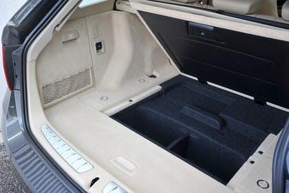 BMW 3er Touring F31 Innenansicht Kofferraum statisch beige