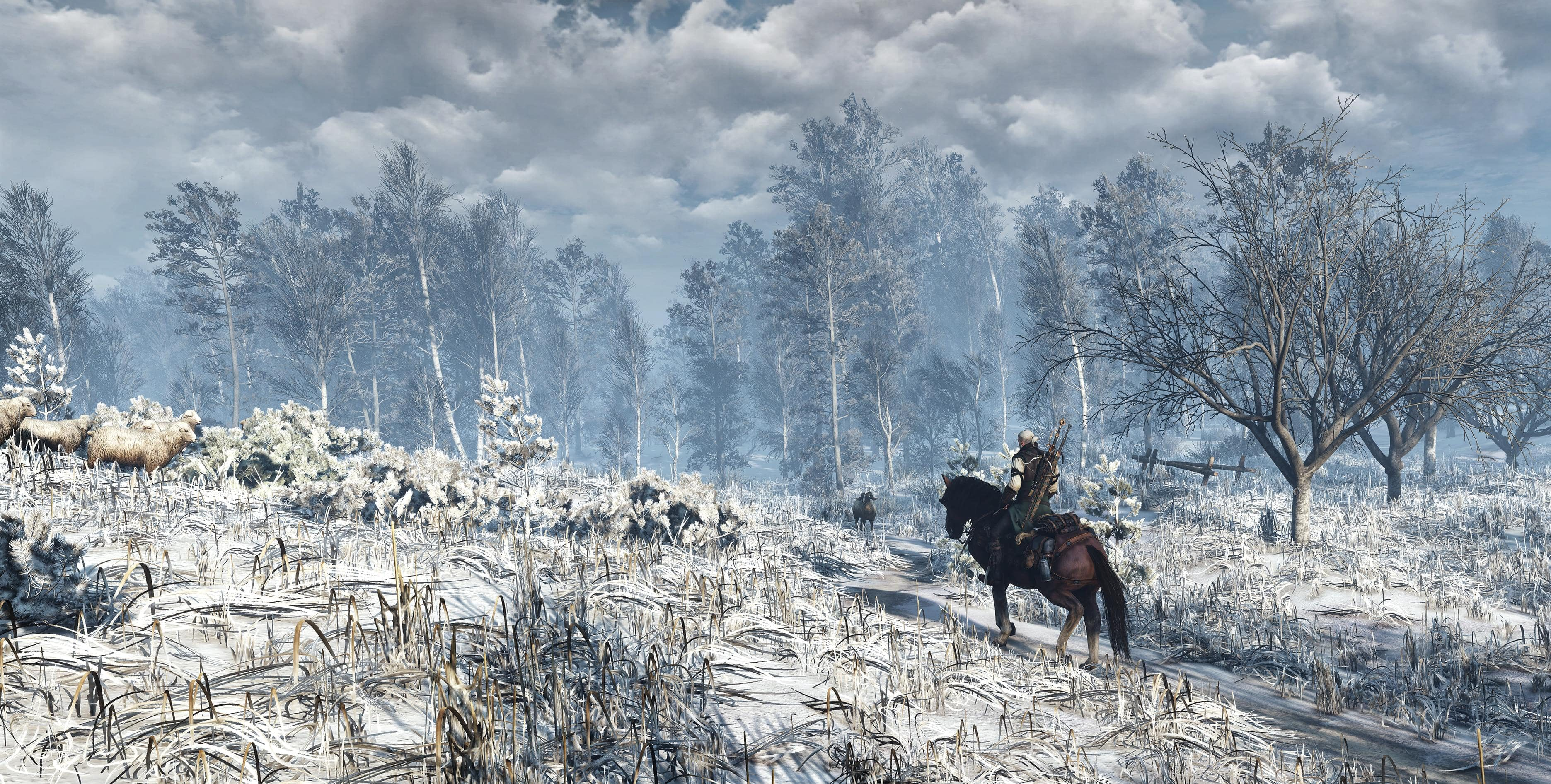 Screenshot The Witcher 3 - Snow