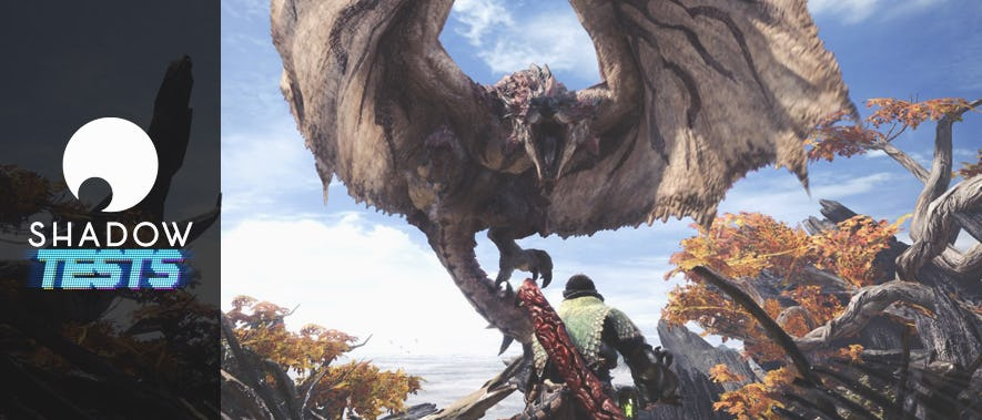 On a testé : Monster Hunter : World sur Shadow !